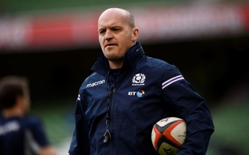 Gregor Townsend: Representing Scotland over England could place players' careers in jeopardy