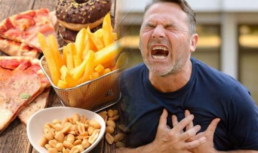 Heart attack: The three worst foods to eat that could trigger the dangerous condition