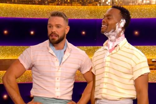 Strictly Come Dancing fans in stitches over 'wet' remark after John Whaite dance