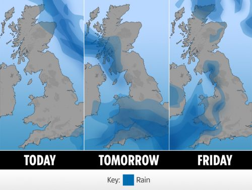UK weather forecast - 50 flood alerts in force as Brits brace for heavy rain. and snow is on the way