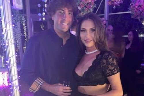 Fran Parman and James Argent show off results of fitness overhaul in sweet snap