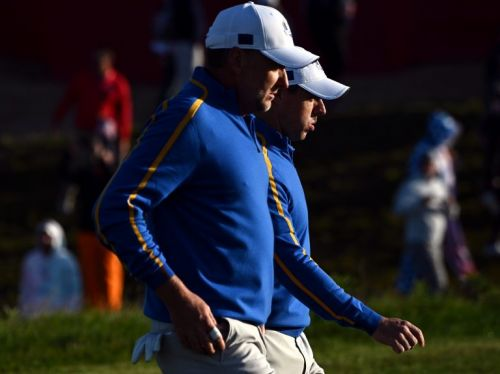 Bryson DeChambeau adds power to United States after strong start by hosts