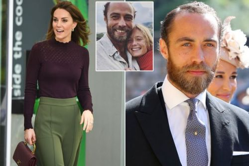 Kate Middleton went to brother James' therapy sessions as he battled depression