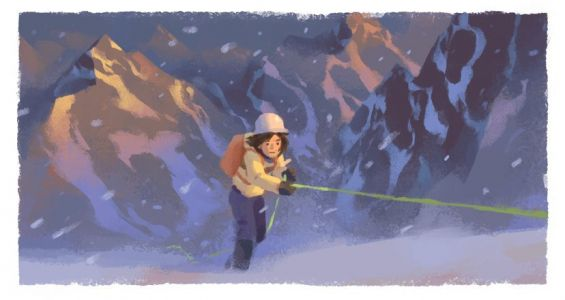 Who is Wanda Rutkiewicz as featured in today's Google Doodle?