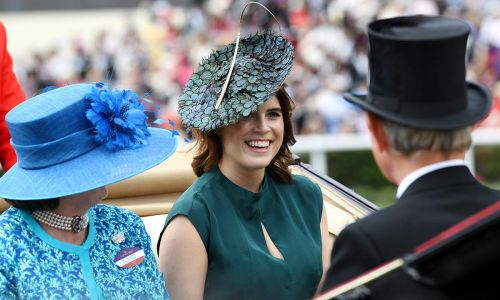 Princess Eugenie returns to Ascot for Ladies Day looking terrific in teal
