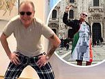 Paul Gascoigne, 53, shows off his dance moves ahead of Italian version of I'm A Celebrity