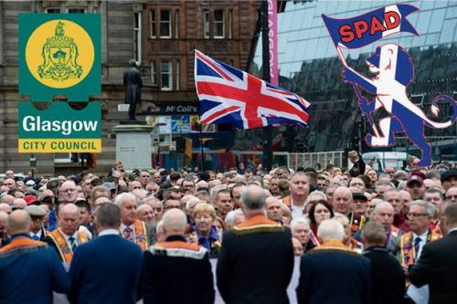 Protestant group vow not to be 'forced from streets' by 'nationalist Glasgow City Council'
