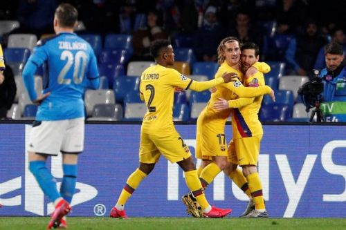 Antoine Griezmann saves Barcelona on Dries Mertens' big night for Napoli