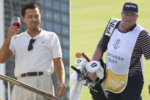 Ryder Cup caddie is convicted drug dealer who was in prison with Wolf of Wall Street