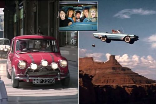 Michael Caine's epic Italian Job mini chase named cinema's best all time car scene