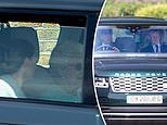 Queen leaves for Balmoral to start her first summer holiday in Scotland without Prince Philip