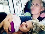 Actress Teresa Palmer is every inch the relatable mother in her isodiaries update