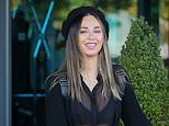 Strictly 2019: Katya Jones flashes her bra in a semi-sheer blouse