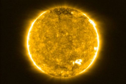 Sun captured in closest images ever and show spectacular 'campfires' on surface