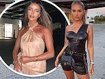 Love Island's Molly-Mae Hague joins chic co-star Maura Higgins on a night out in Crete