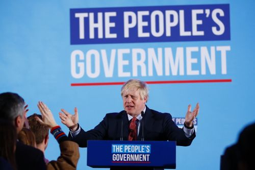 Boris Johnson says 'we pulled it off' as he celebrates landslide election win