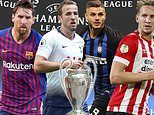 Champions League LIVE - Tottenham vs Inter Milan plus Barcelona vs PSV