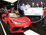 First new design Corvette is the fastest ever and can hit 60mph in just three seconds