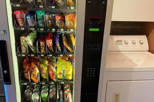 Thrifty mum buys vending machine and gets kids to use pocket money on treats