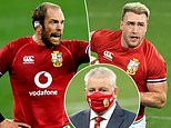 Alun Wyn Jones completes incredible recovery to captain Lions for first Test