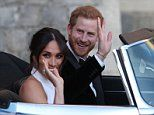 What it's like to ride in Harry's wedding motor