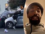 NBA's J.R. Smith caught on video beating protester who broke his car window