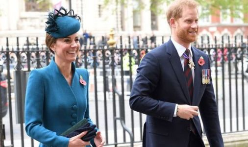 Kate set for royal takeover of Prince Harry's official roles -Duke will not 'welcome' move