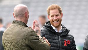 Prince Harry took Archie to playgroup this week and cracked the funniest joke