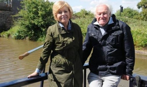 Why did Prunella Scales leave Great Canal Journeys?