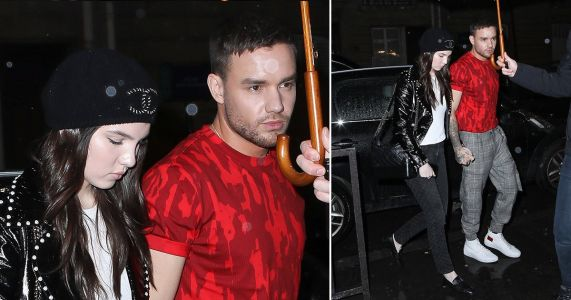 Liam Payne goes red for date night with girlfriend Maya Henry in Paris