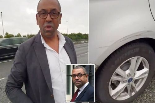 Tory James Cleverly accused of 'crashing into car while talking on phone' on M11