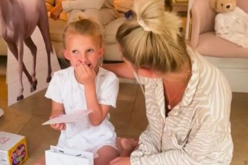 Billie Faiers gives inside look at Nelly's lavish 7th birthday as Greg Shepherd jokes it's 'a bit much'