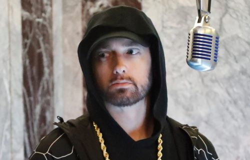 What did Eminem say about the Manchester bombing as his lyrics are met with criticism