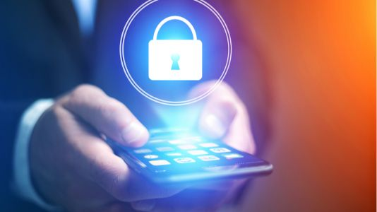 How can businesses prevent data risks in a BYOD society?