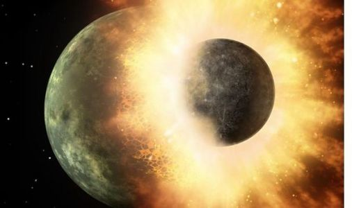 Pace news: NASA reveals planetary pair collided to form Moon - 'Giant Impact' theory'
