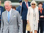 Prince Charles and Camilla, Duchess of Cornwall arrive in Auckland for royal tour of New Zealand