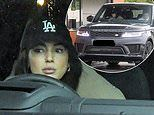 Michelle Keegan and husbandMark Wright enjoy a takeout coffee in their£65KRange Rover