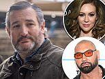 Alyssa Milano, Dave Bautista share online petition calling for Ted Cruz to be expelled from Senate