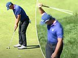 The embarrassing moment New Zealand golfer Danny Lee misses FIVE easy putts at US Open