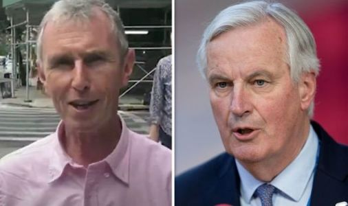 Brexiteer Tory savages Remainers as he hilariously taunts chief Eurocrat Michel Barnier