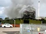 'Human slavery' victim, 43, dies after huge fire breaks out at cannabis factory in Birmingham