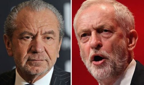 Ex-Labour peer Lord Sugar snubs Corbyn by urging voters to back Boris - 'Don't HIRE him!'