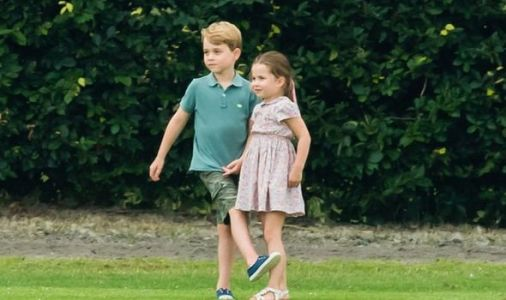 Prince George and Charlotte have special day of their own while mum Kate attends Wimbledon