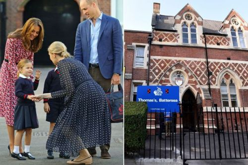Inside George and Charlotte's royal school - with private chauffeurs and vegan menus