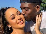 Love Island's Marcel Somerville PROPOSES to girlfriend Rebecca Vieira at gender reveal