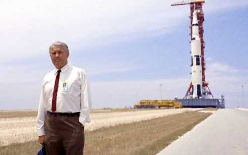 The Nazi war criminal who helped America land on the Moon