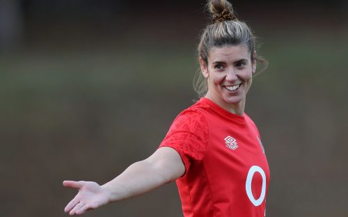England rugby captain Sarah Hunter pays for free school meals at former school