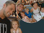 Dan Osborne showcases his new teeth during family night out with Jacqueline Jossa and their kids