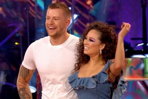 Strictly fans left gobsmacked by Adam Peaty gyrating in impossibly tight jeans