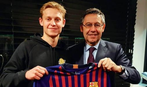 Frenkie de Jong's Barcelona transfer is good for Tottenham - but bad for Man Utd and PSG